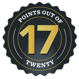 Awarded 17/20 Points