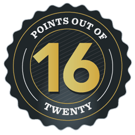 Awarded 16/20 Points