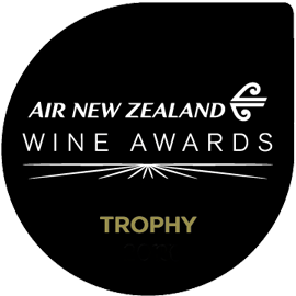 Awarded Trophy - Air New Zealand Wine Awards