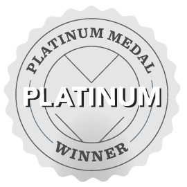 Awarded Platinum Medal