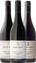 Judge Rock's Central Otago St Laurent Vertical Tasting Collection Case