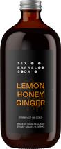 Six Barrel Soda Co. Lemon Honey Ginger Syrup (500ml)