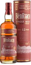 BenRiach 12yo Sherry Wood Finish Single Malt Scotch Whisky (700ml)
