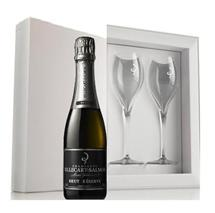 Billecart-Salmon Brut Reserve NV (375ml Gift Pack and 2 Flutes) (France)