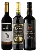 Premium, Aged, Reserve Spanish Reds 3 Bottle Case (Spain)