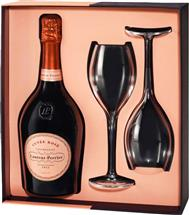 Laurent-Perrier Cuvée Rosé Champagne NV Glass Gift Pack (France)