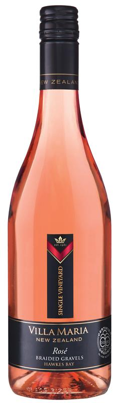 Villa Maria Single Vineyard Hawkes Bay Braided Gravels Rose 2017