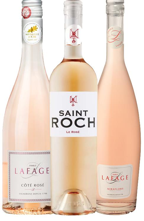 Southern France Award Winning Premium Rosé Mix