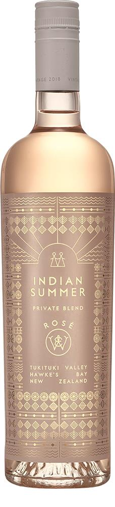 Waiana Estate Indian Summer Private Blend Hawke's Bay Rosé 2018