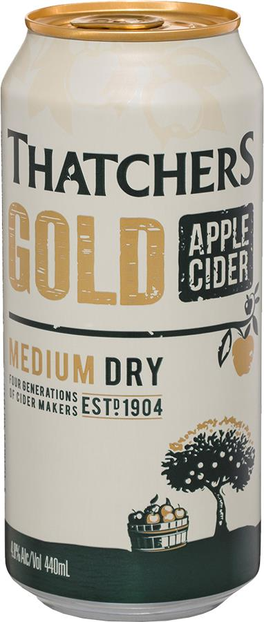 Thatcher's Gold Apple Cider (440ml)