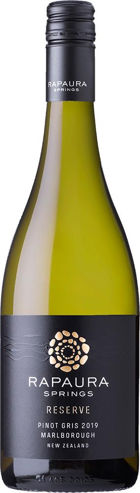 Rapaura Springs Reserve Marlborough Pinot Gris 2019