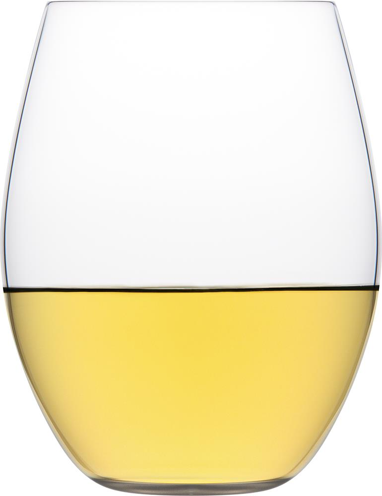 Plumm Outdoors Vintage Stemless White Wine Glass