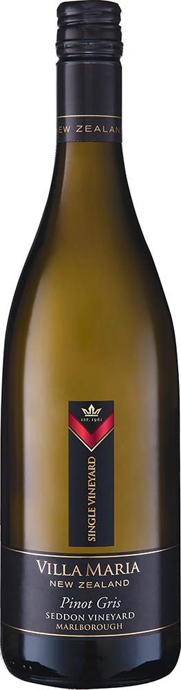 Villa Maria Single Vineyard Seddon Marlborough Pinot Gris 2018