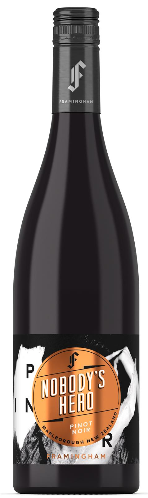 Framingham's 'Nobody's Hero' Limited Edition Marlborough Pinot Noir 2019