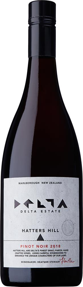 Delta Hatters Hill Single Vineyard Marlborough Pinot Noir 2018