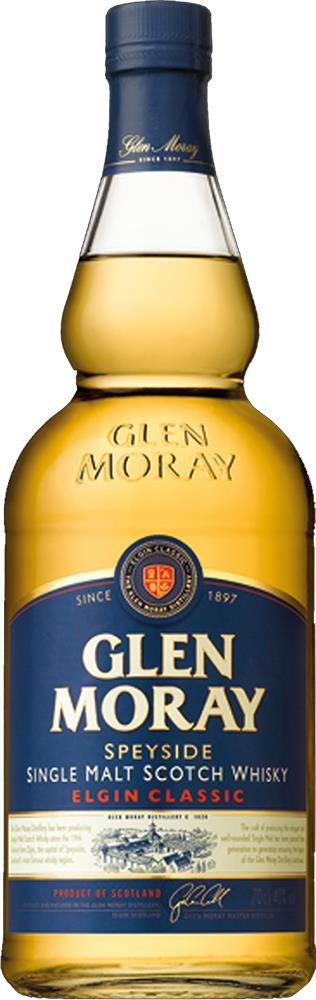 Glen Moray Classic Single Malt Scotch Whisky (700ml)
