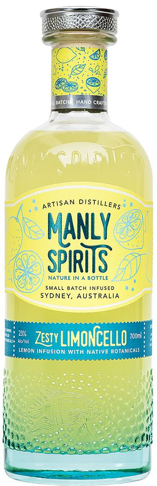 Manly Spirits Zesty Limoncello (700ml)