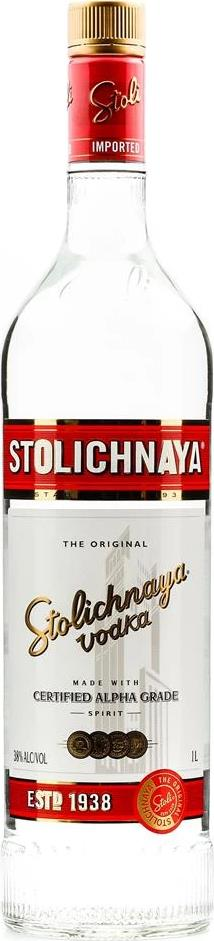 Stolichnaya Vodka Original (1L)