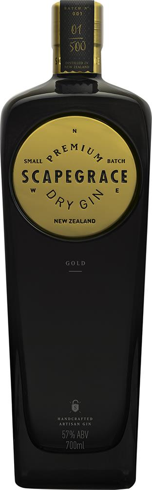 Scapegrace Gold Dry Gin (700ml)