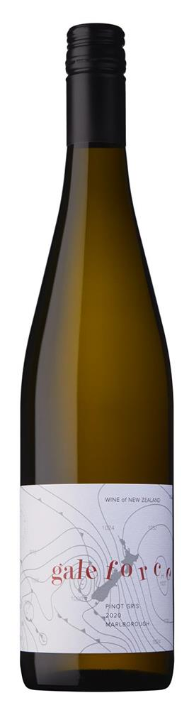 Gale Force Marlborough Pinot Gris 2020