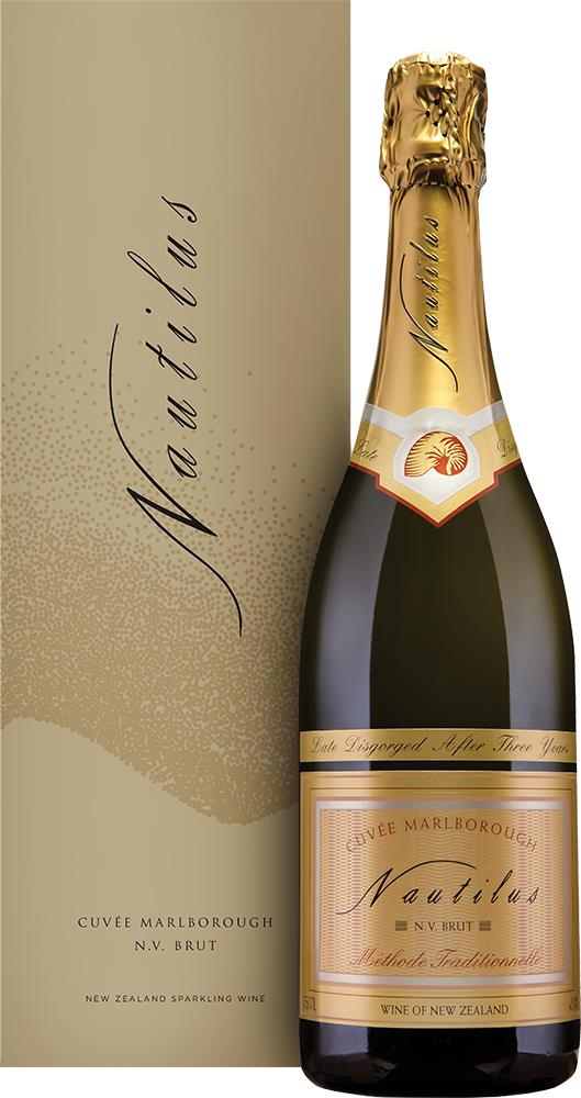 Nautilus Estate Cuvée Marlborough Brut NV (Gift Box)