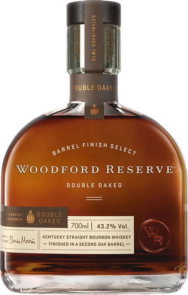 Woodford Reserve Double Oaked Bourbon (700ml)