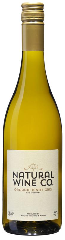 Natural Wine Co Gisborne  Pinot Gris 2016